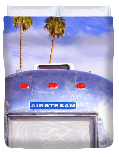 Land Yacht Palm Springs Duvet Cover by William Dey
