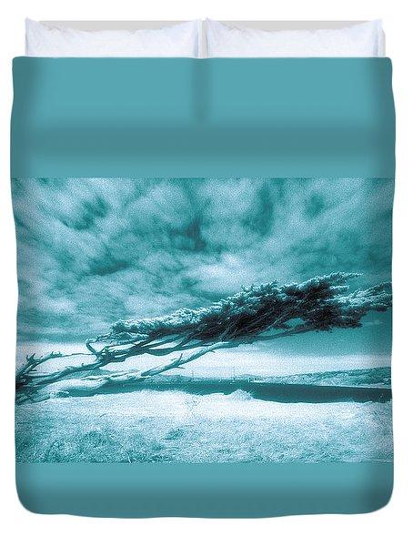 Lands End Duvet Cover by Daniel Furon