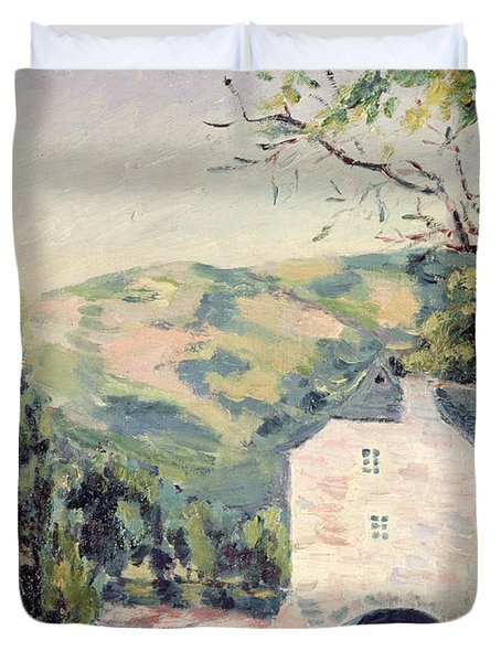 Landscape In Provence Duvet Cover by French School