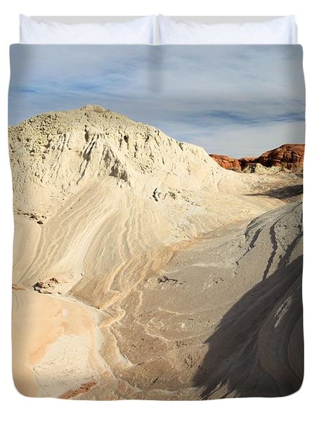 Landscape Swirls Duvet Cover by Adam Jewell