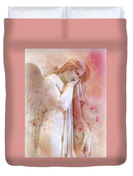L'angelo Celeste Duvet Cover