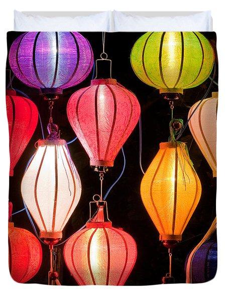 Lantern Stall 04 Duvet Cover