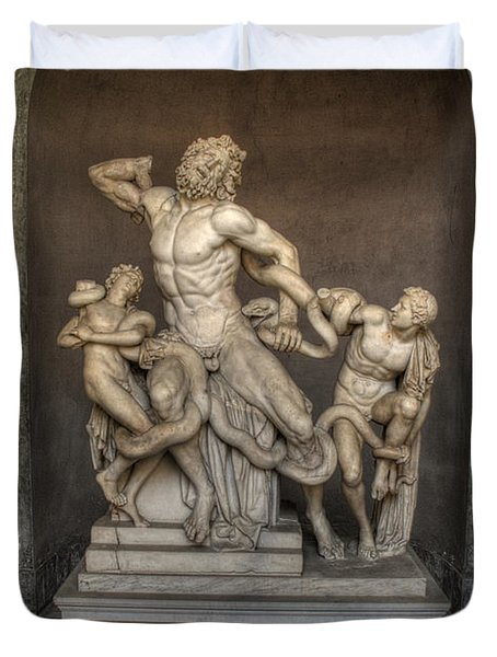 Laocoon And His Sons Duvet Cover