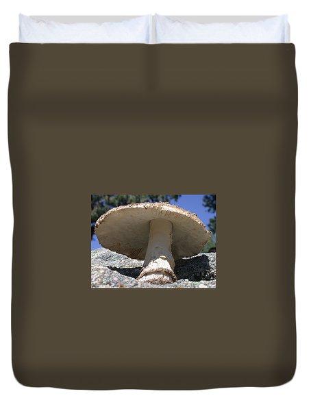 Large Mushroom Duvet Cover