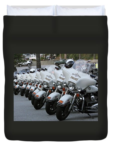 Duvet Cover featuring the photograph La's Finest by Shoal Hollingsworth