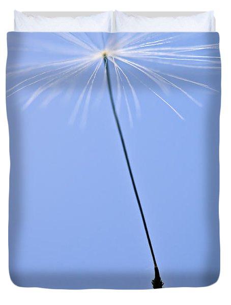 Last Dandelion Seed Duvet Cover by Elena Elisseeva