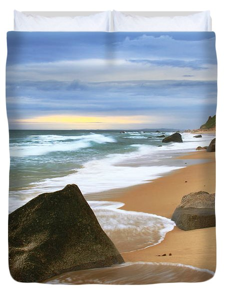 Last Light Before The Storm Duvet Cover