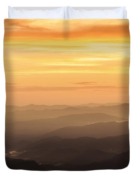 Last Light Duvet Cover