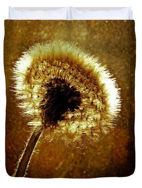 Last Light Of Day Duvet Cover by Bob Orsillo