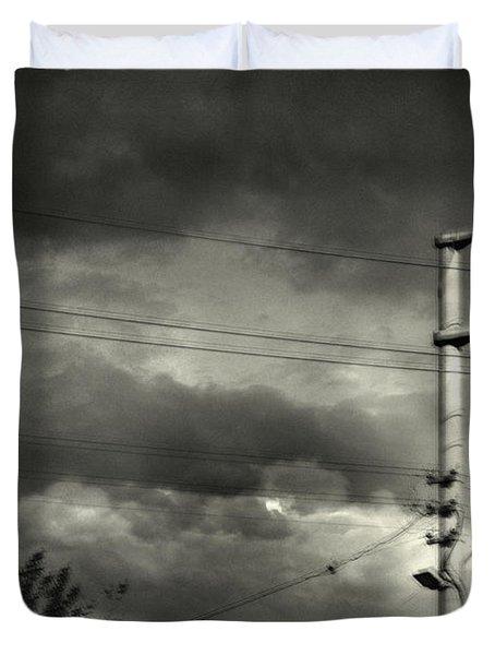 Last Morning Duvet Cover by Taylan Apukovska