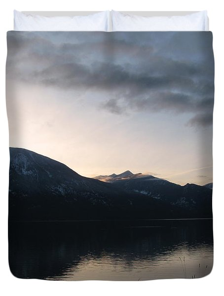Last Rays Duvet Cover by Leone Lund