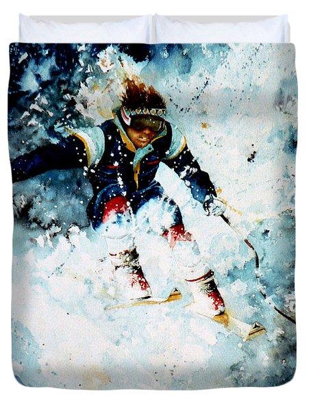 Last Run Duvet Cover by Hanne Lore Koehler