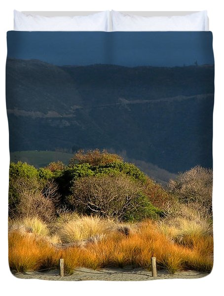 Late Afternoon Colours Duvet Cover
