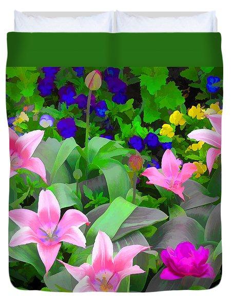 Late Bloomer Duvet Cover by John Freidenberg