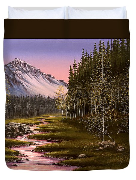 Late In The Day Duvet Cover