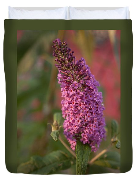 Late Summer Wildflowers Duvet Cover