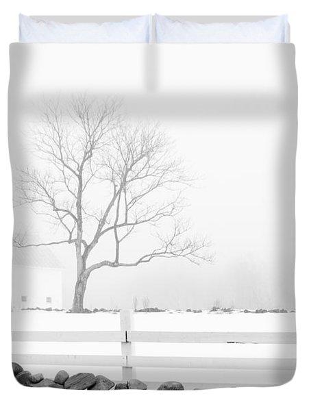 Late Winter Duvet Cover