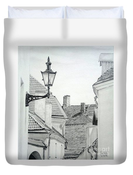 Latern Duvet Cover