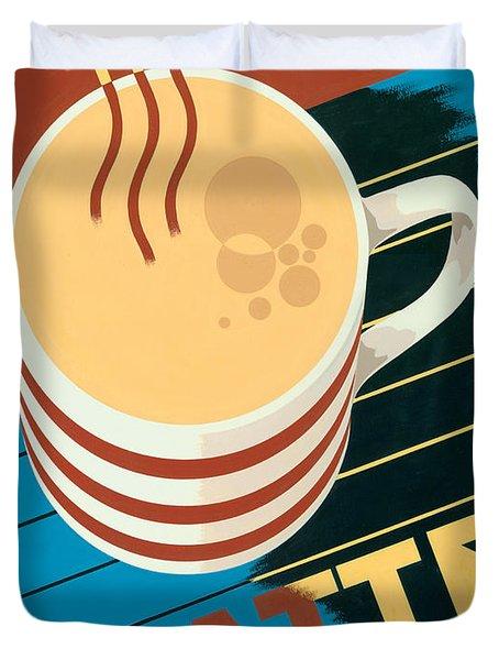 Latte Duvet Cover