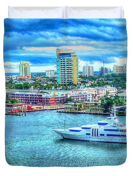 Lauderdale Duvet Cover by Debbi Granruth
