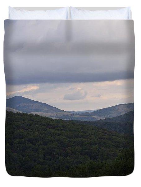 Laurel Fork Overlook 1 Duvet Cover