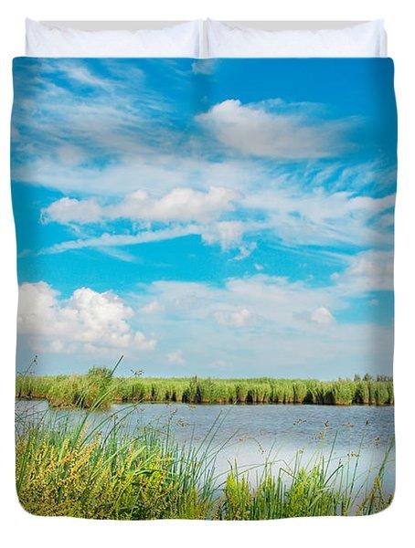 Lauwersmeer National Park. Duvet Cover