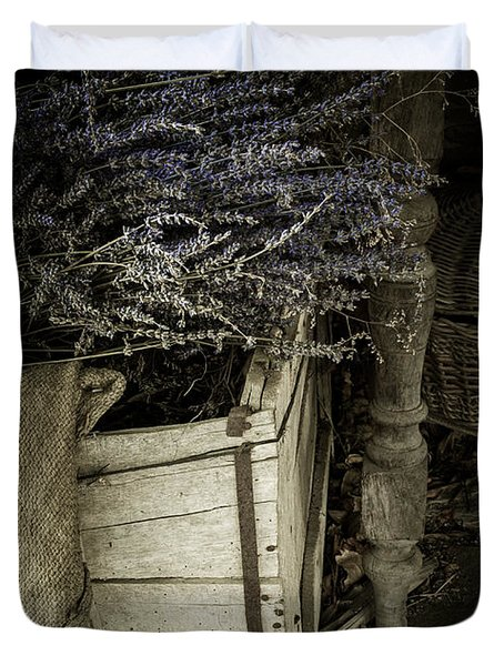 Lavandula Duvet Cover by Amy Weiss