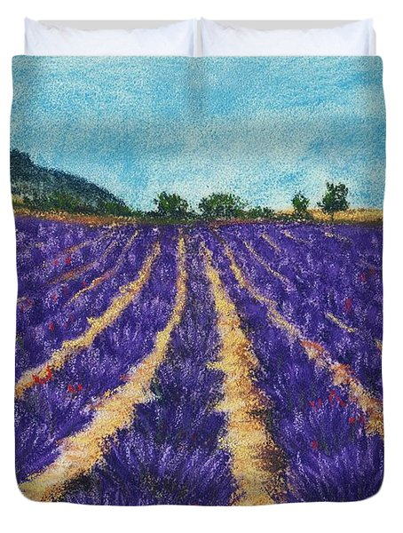 Lavender Afternoon Duvet Cover by Anastasiya Malakhova