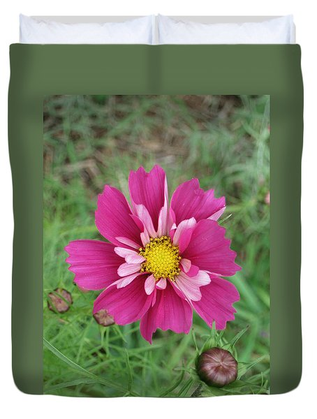 Lavender Cosmo Duvet Cover