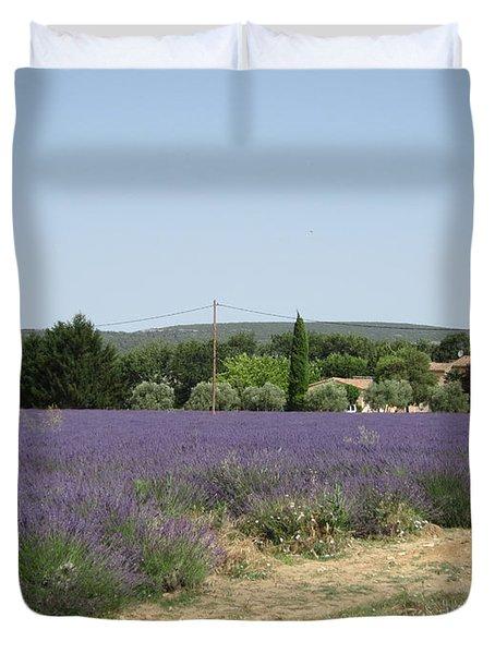 Lavender Farm Duvet Cover