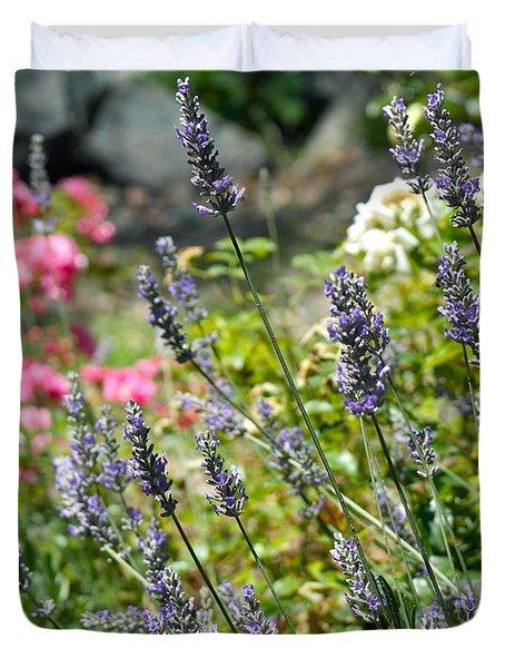 Lavender In Bloom Duvet Cover
