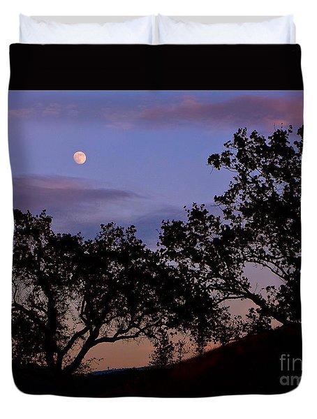 Lavender Moon Twilight Duvet Cover