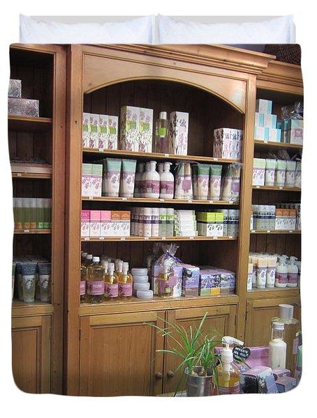Lavender Museum Shop 1 Duvet Cover by Pema Hou