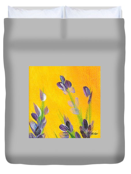 Lavender - Hanging Position 2 Duvet Cover