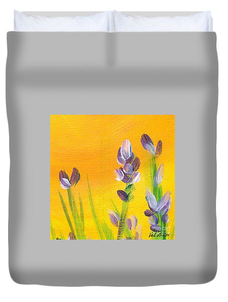Lavender - Hanging Position 3 Duvet Cover