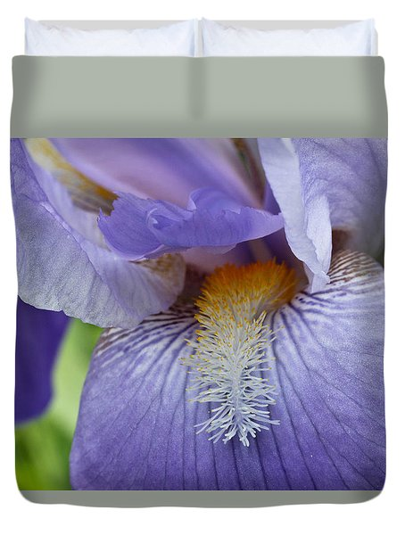 Lavish Iris Duvet Cover