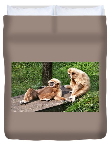 Lazy Life Duvet Cover