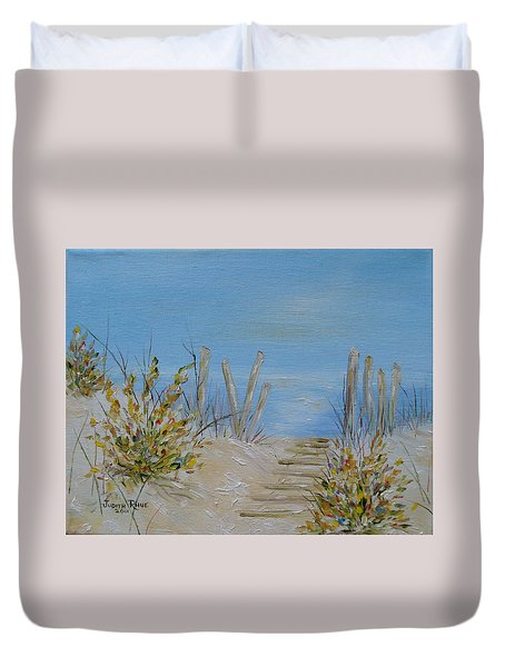 Lbi Peace Duvet Cover by Judith Rhue