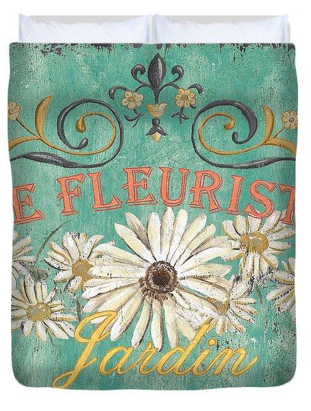 Le Marche Aux Fleurs 6 Duvet Cover