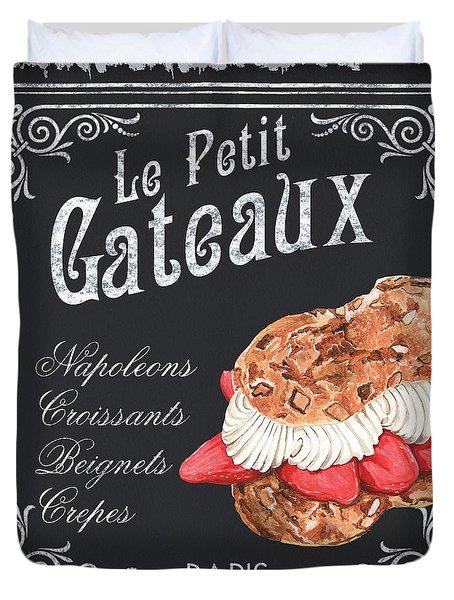 Le Petit Gateaux Duvet Cover