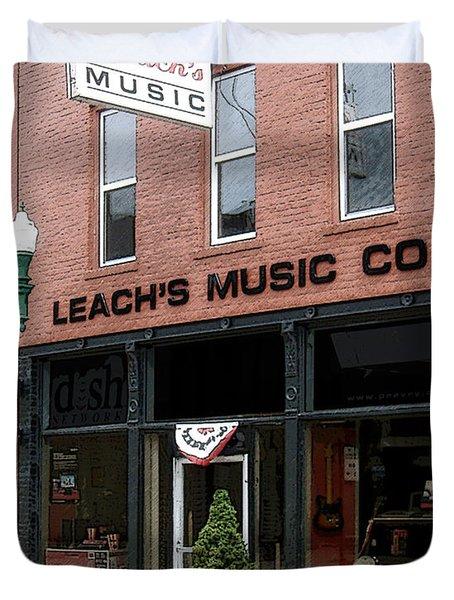 Leach's Music Duvet Cover