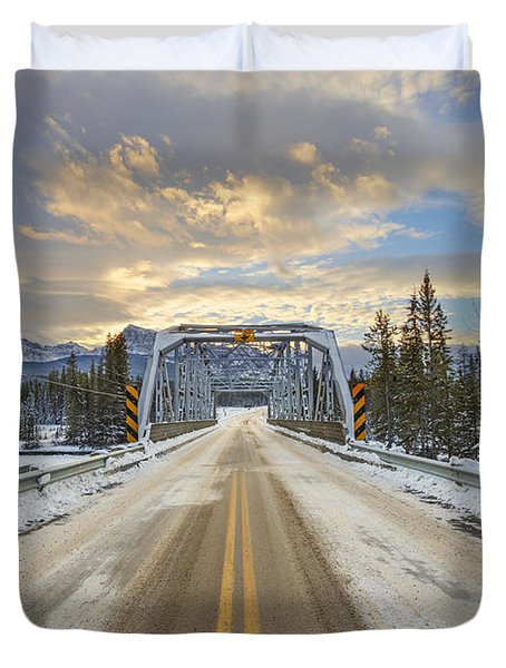 Lead Me To The Light Duvet Cover