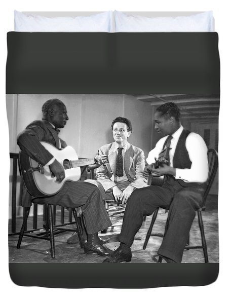 Leadbelly Sings The Blues Duvet Cover