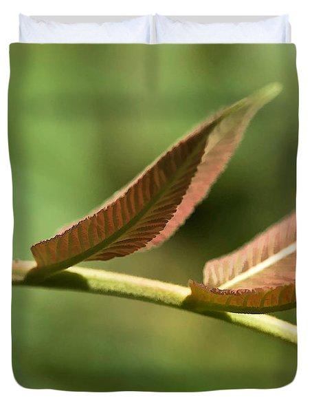 Leaf Bridge Duvet Cover