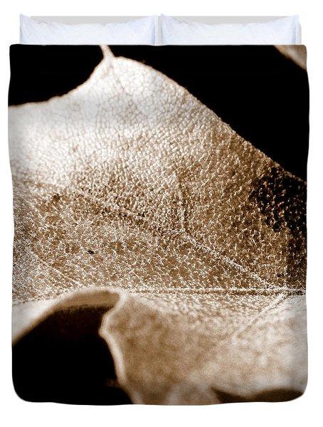 Leaf Collage 1 Duvet Cover