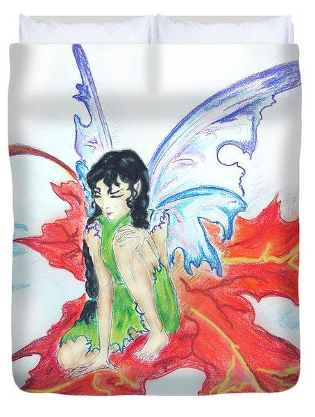 Leaf Fairy Duvet Cover
