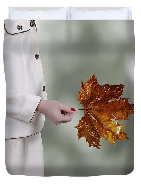 Leaf Duvet Cover by Joana Kruse