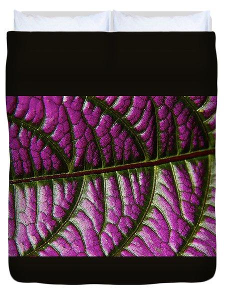 Leaf Pattern 2 Duvet Cover