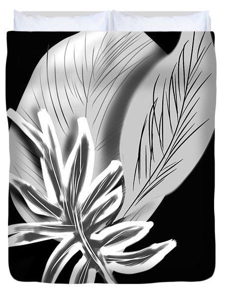 Leaf Ray Duvet Cover