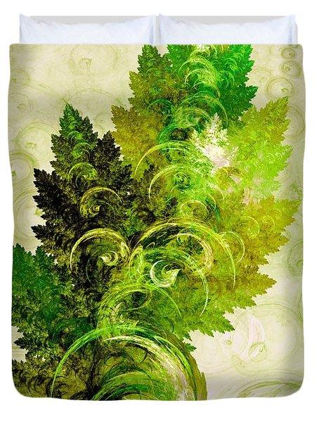 Leaf Reflection Duvet Cover
